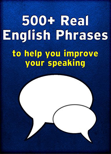 دانلود عبارات ضروری در مکالمه 500 Real English Phrases